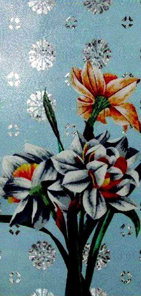 Mosaic Flower Art The Windflowers Pic