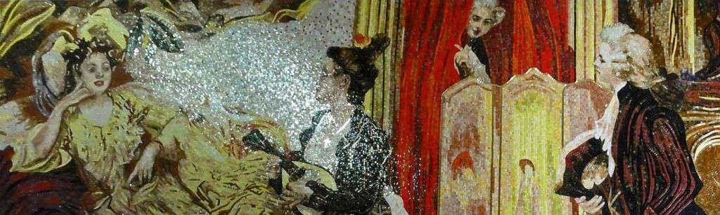 Mosaic Art Frederick The Great Pic
