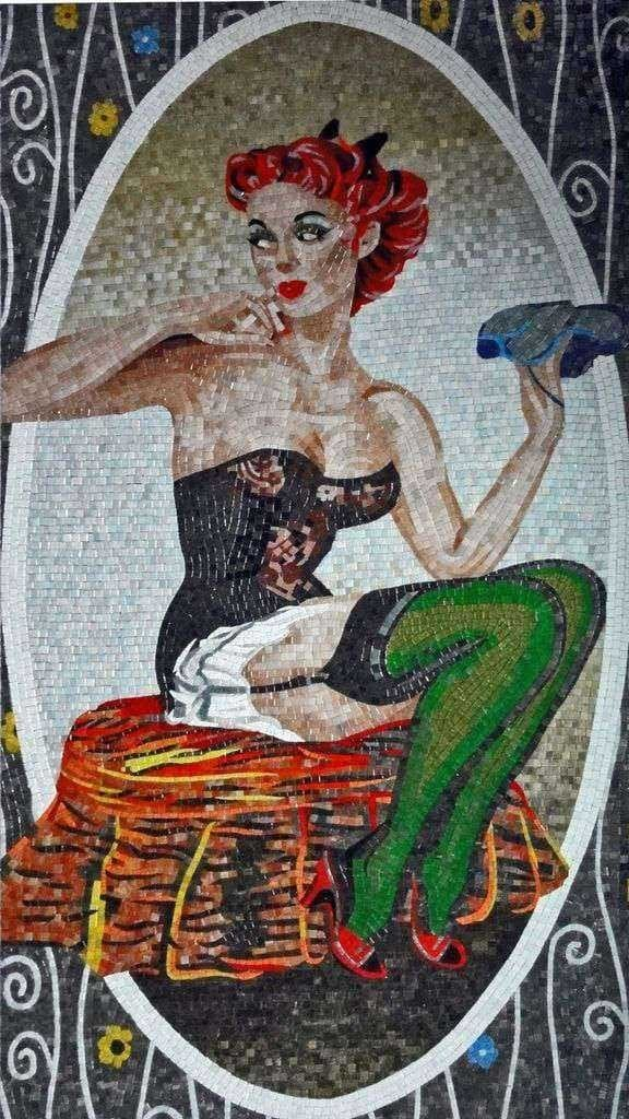 Mosaic Art - Fairy Morgan