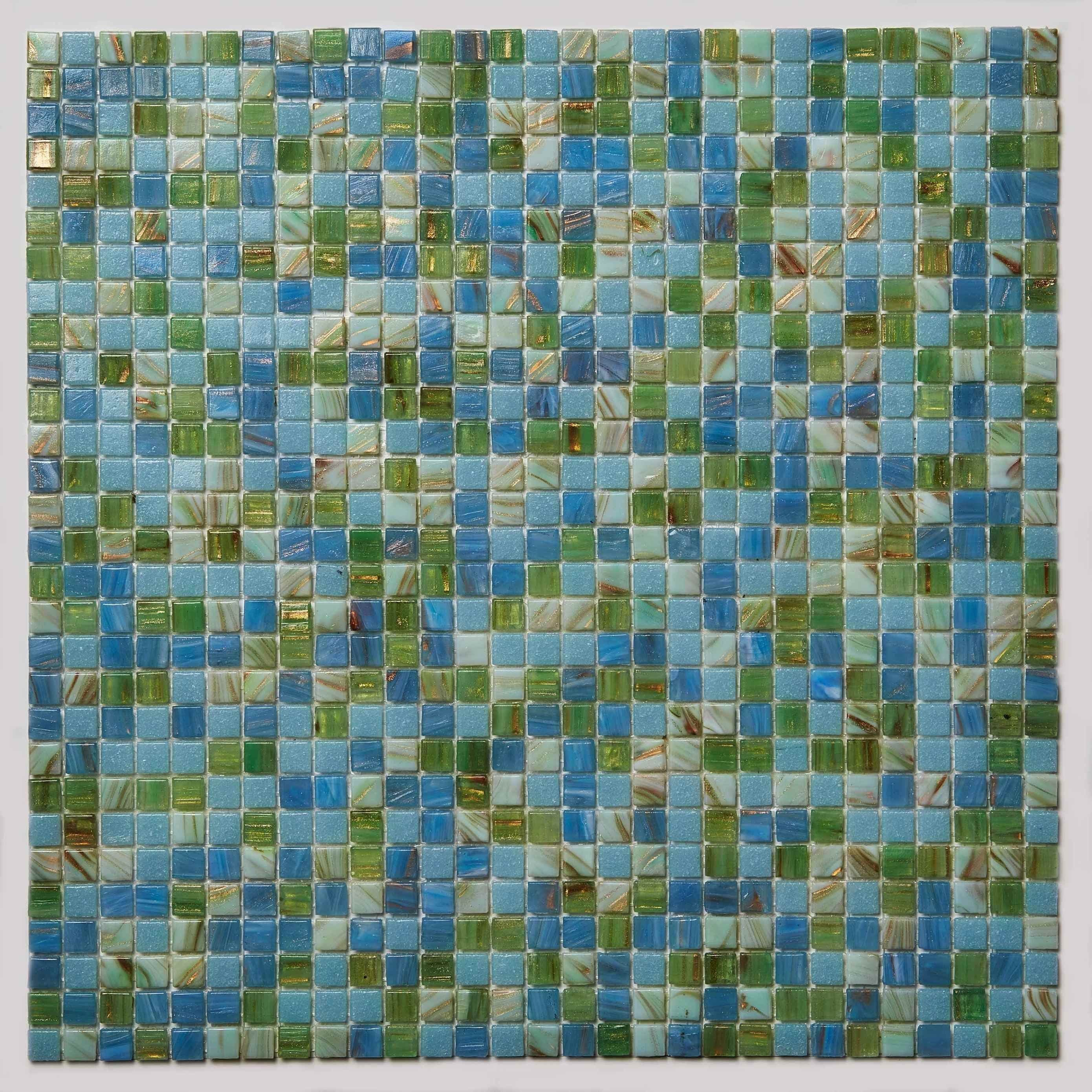 Glass Sheet Mosaic- Sky and River