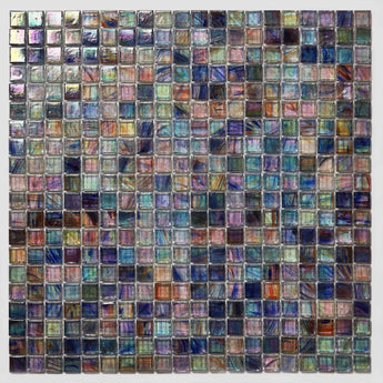 Mosaic Glass Sheet- Pastel Color Chart
