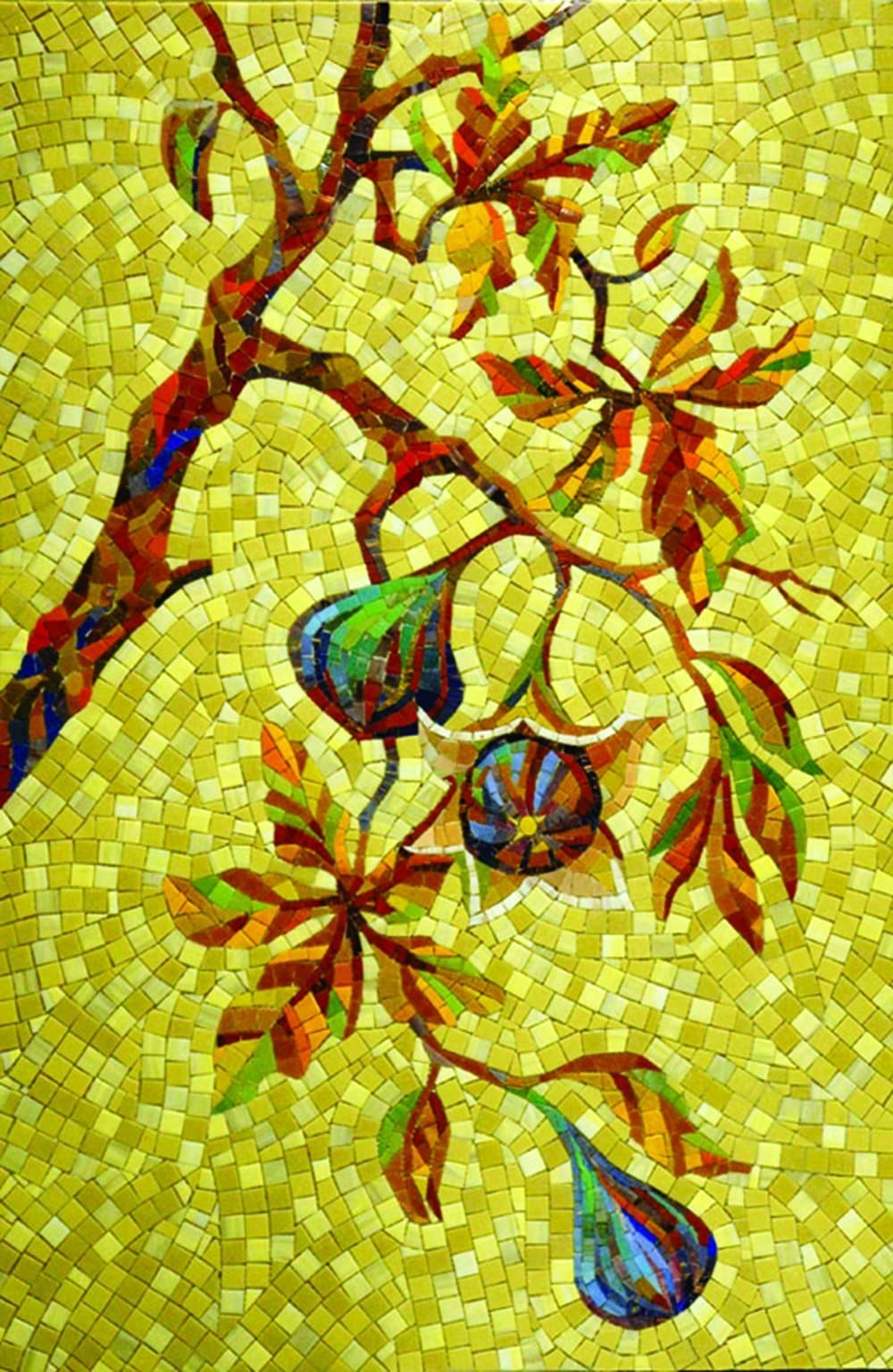 Early Morning Figs Mosaic