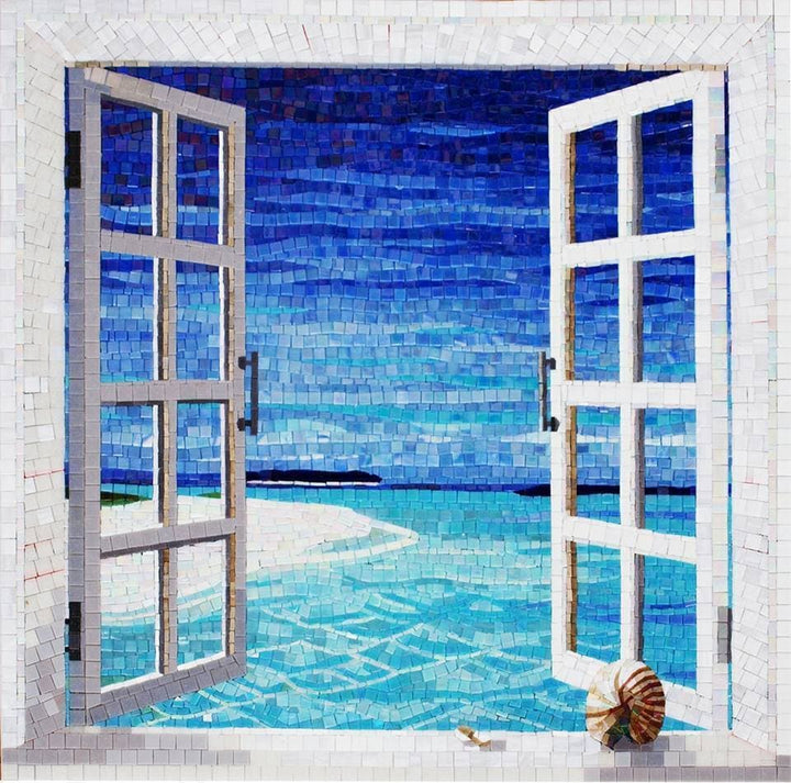 Sea View - Glass Mosaic
