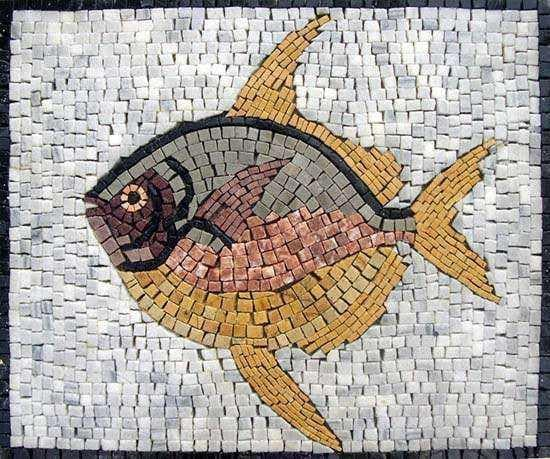 Artistic Fish design Mosaic