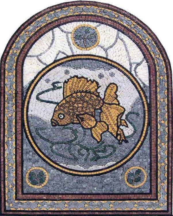 Arched Fish Mosaic