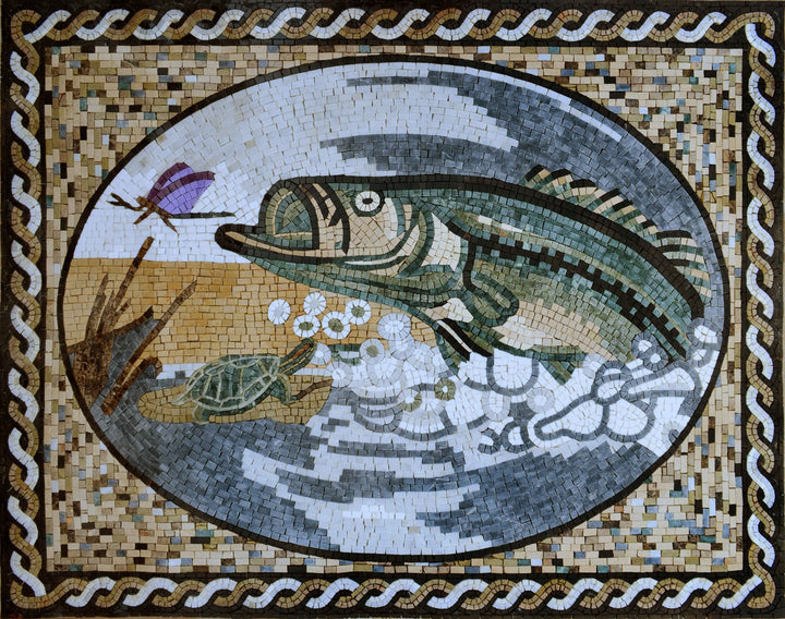 Mosaic Art - Fish Lullabies