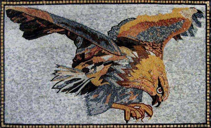 Mosaic Designs - Hunting Eagle