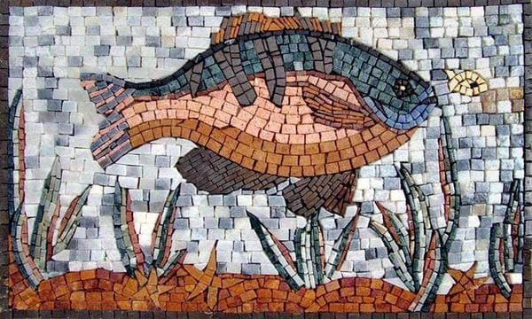 Colored Fish Mosaic