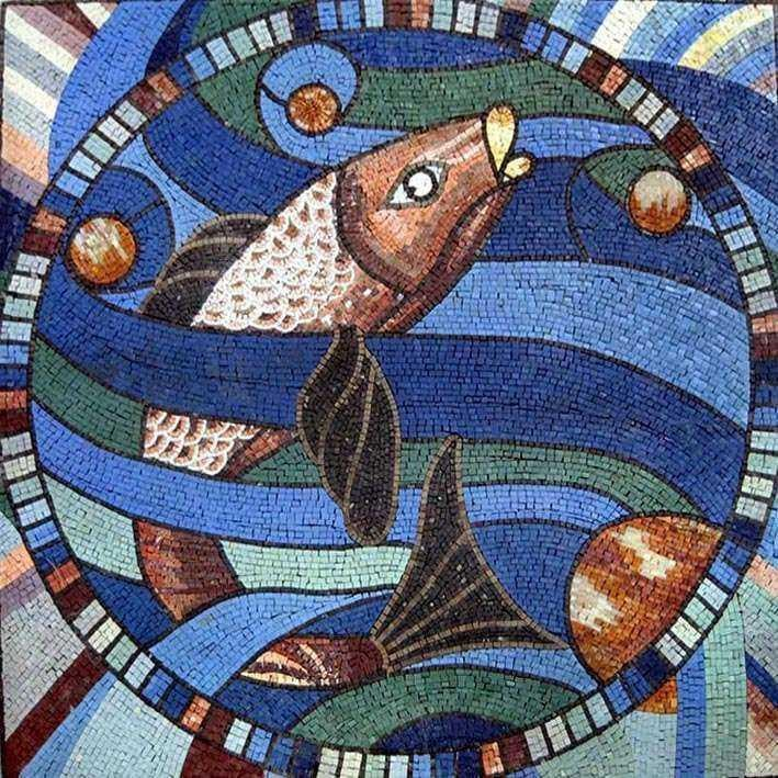 Fish Mosaic Art Pic