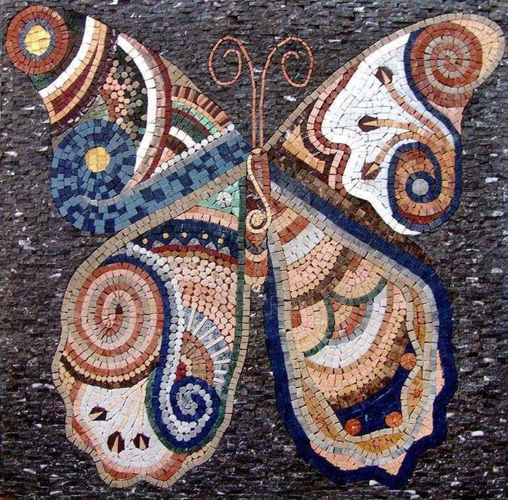 Mosaic Art - Butterfly Design