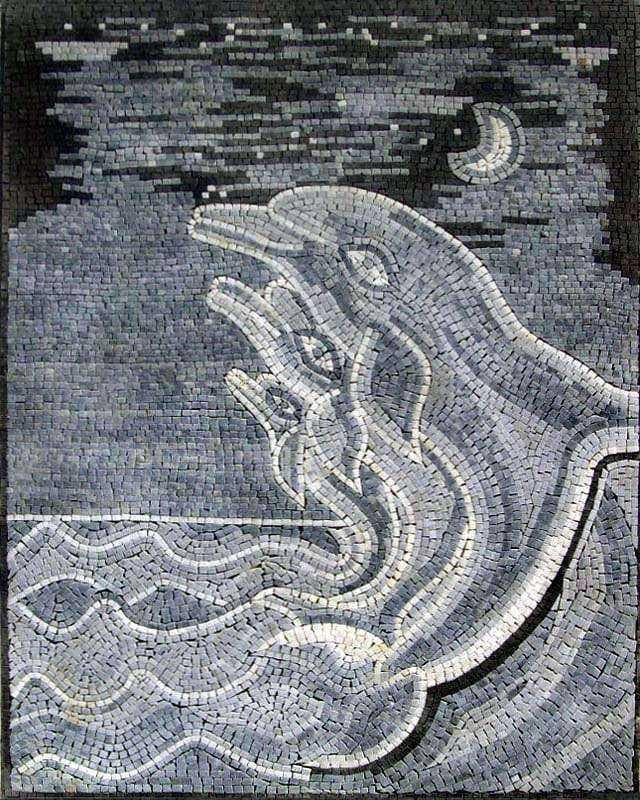 Dolphins Mosaics Pic