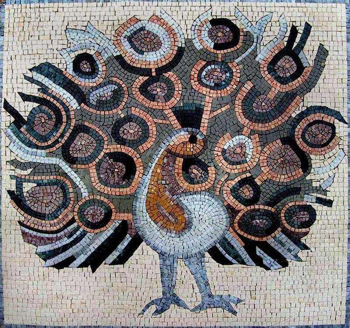 Mosaic Design - The Peacock