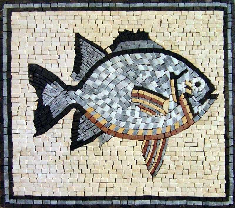 Cute Fish Mosaic
