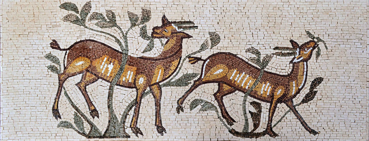 Custom Mosaic Designs - The Deer