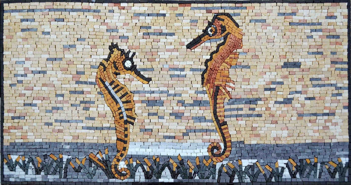 Mosaic Patterns - Spniy Seahorses