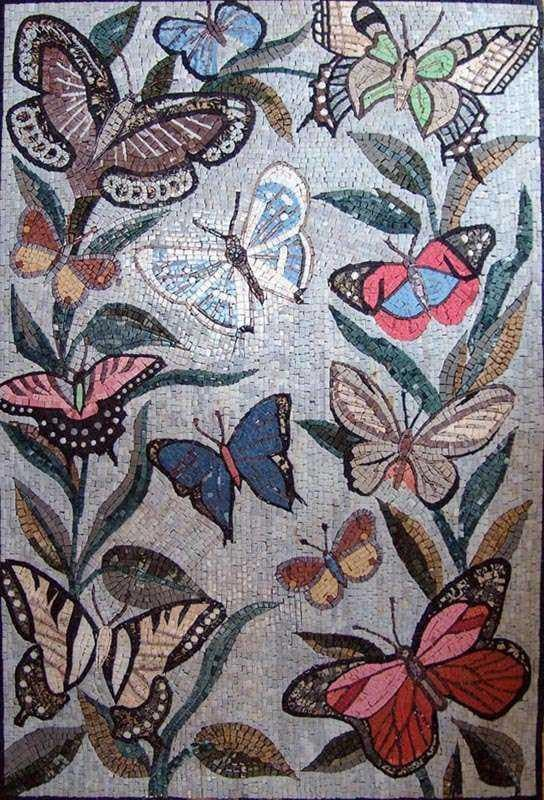 Mosaic Designs - Wonderful Butterflies
