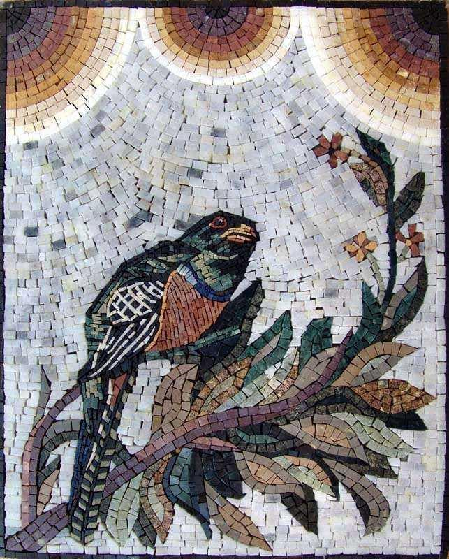 Mosaic Artwork - Bird