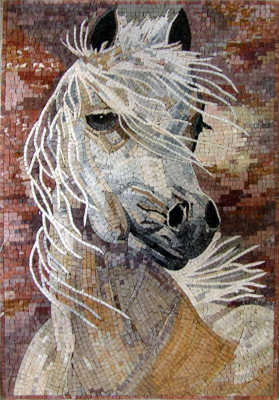 "Creamy Natural Tone €"" White Horse"
