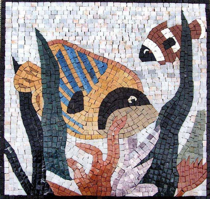 Nautical Scene Mosaic