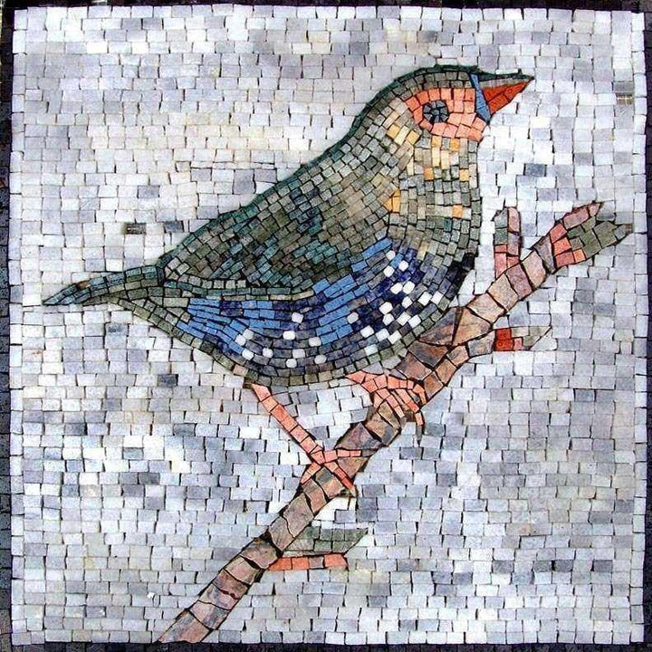 Mosaic Art for Sale - Cute Bird