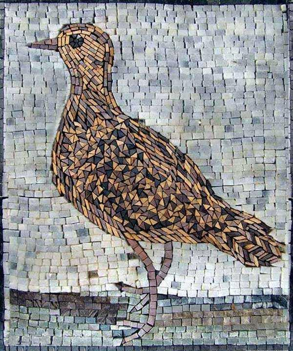 Mosaic Designs - Stone Bird