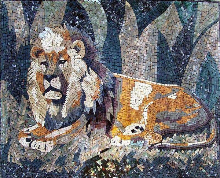 Chronicles of Narnia - Lion Mosaic Wall Art
