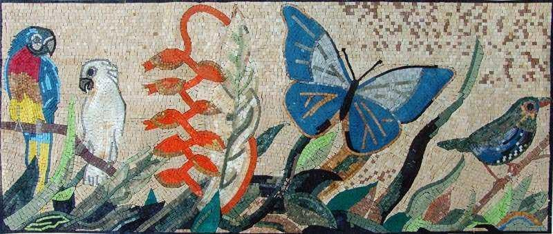Mosaic Designs Exotic Nature Pic