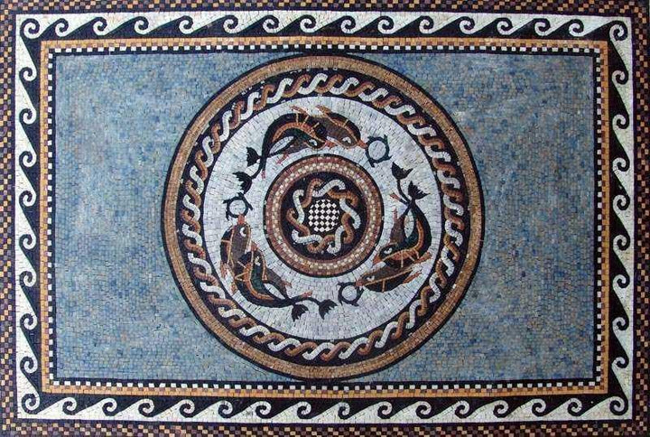 Nautical Patterns Mosaic