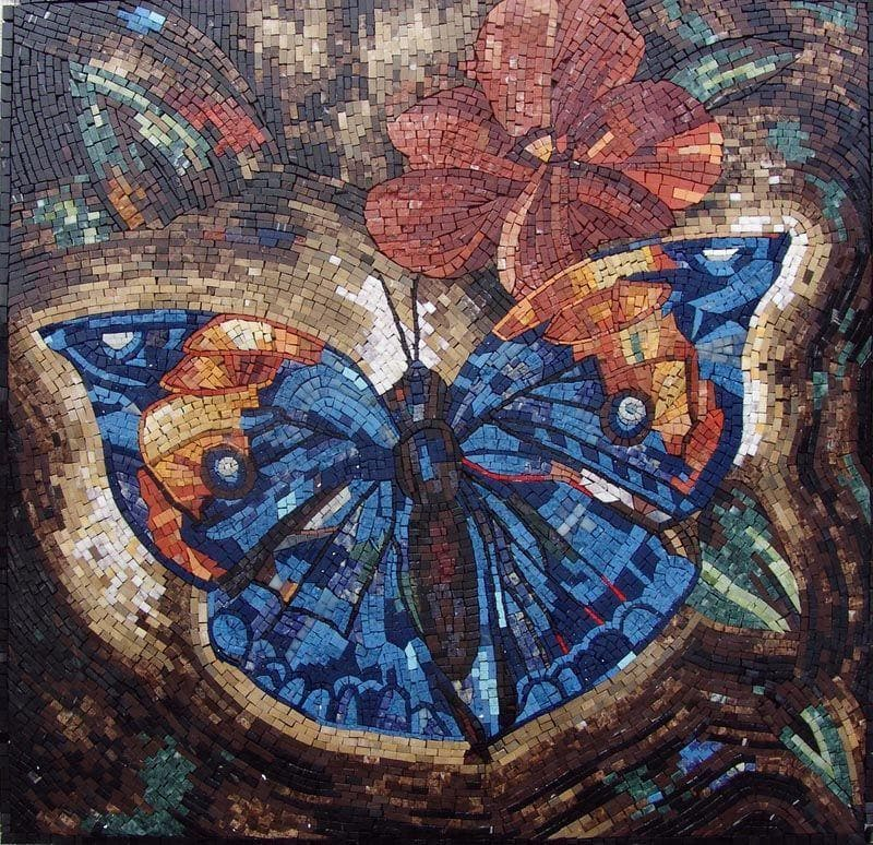 Marble Mosaic Designs - Butterfly
