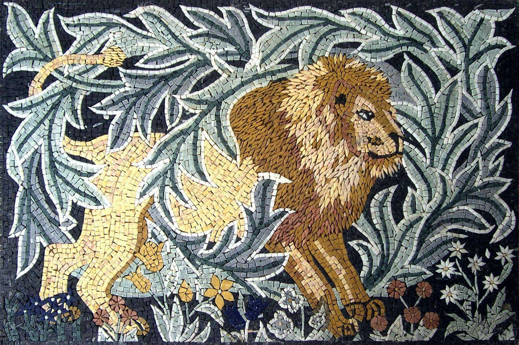 Mosaic Designs - Forest Lion