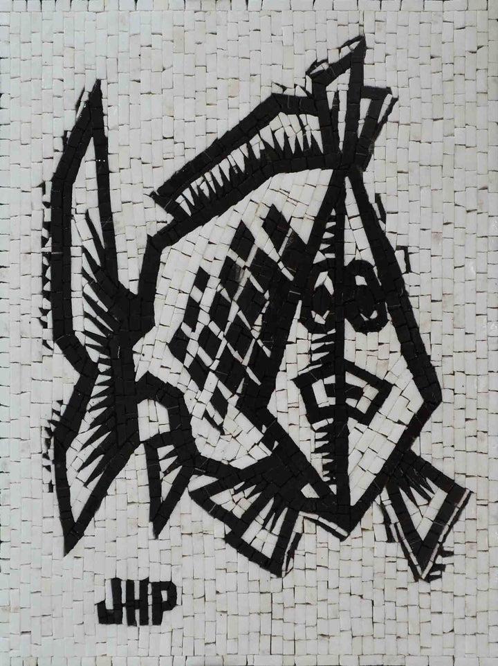 Mosaic Art - Fish Qick Sketch