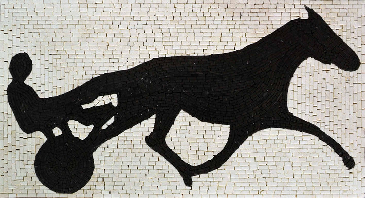 Mosaic Patterns- Trotter Silhouette