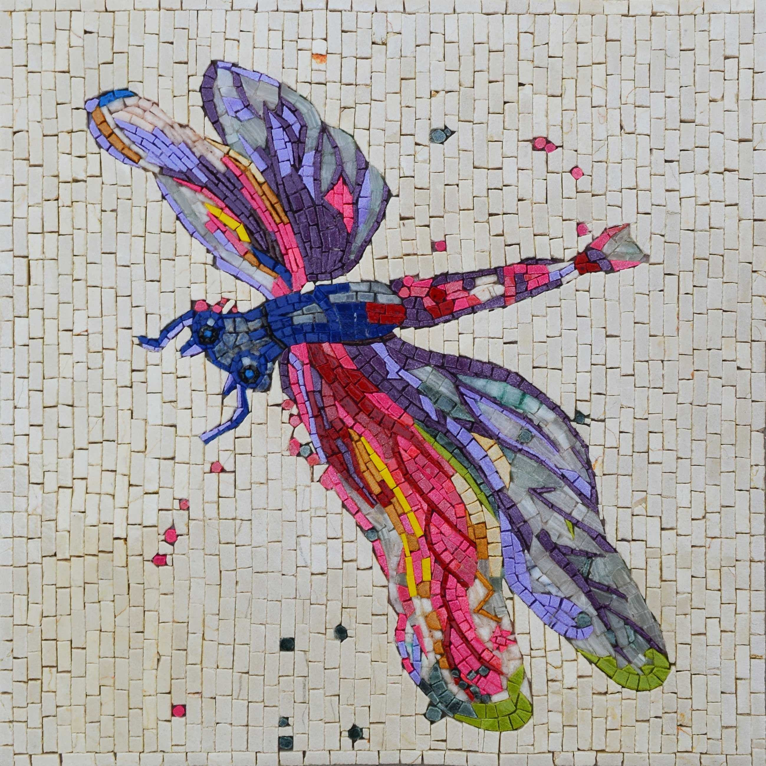Mosaic Designs - Dragonfly Accent