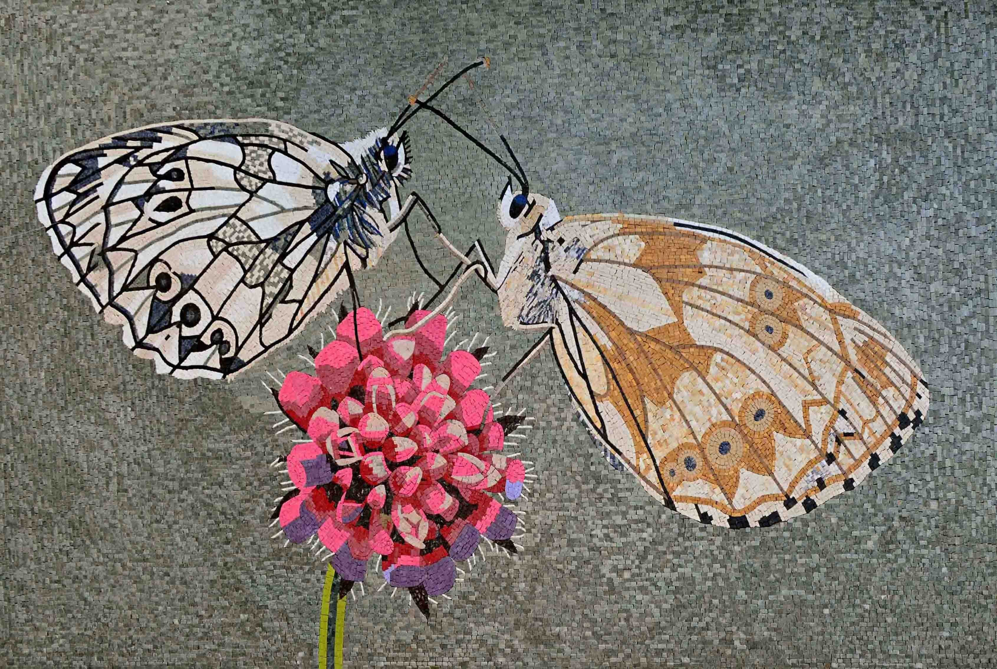 Mosaic Designs Spring Butterflies Pic