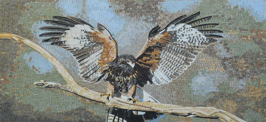 Custom Mosaics - Bald Eagle