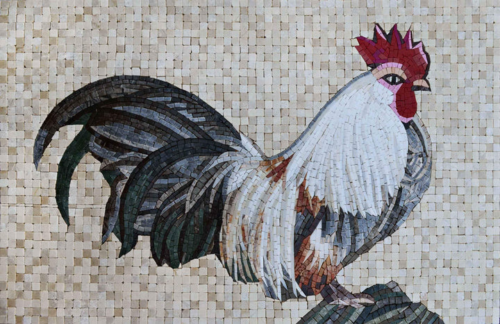 Mosaic Accent - Rooster Plumage