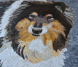 Mosaic Artwork - Shetland Sheepdog