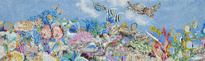 Nautical Mosaic - Turtle Reef