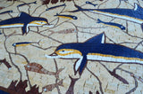 Dolphins Mosaic Rug