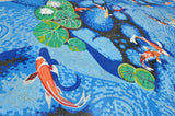 Koi Fish Pond - Mosaic Art