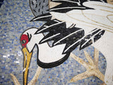 Marble Mosaic Rug - Rug of Birds