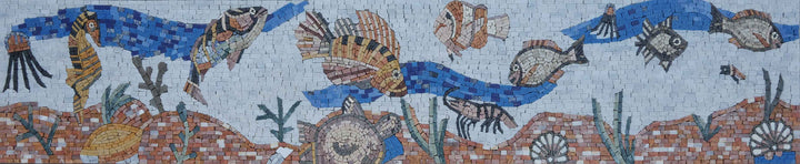 Creatures of the Blue Sea Mosaic