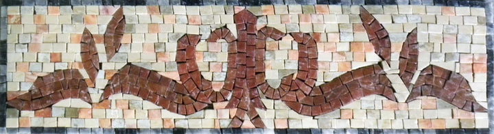 Marble Mosaic Borders - Dove