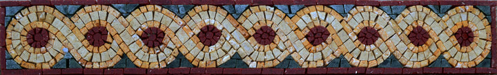 The Rope III -  Geometric Mosaic Border