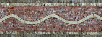 Mosaic Border - Waves