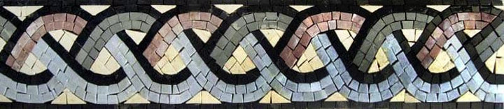 Mosaic Border Rope Design