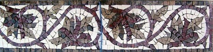 Leaf Mosaic Boarder Art