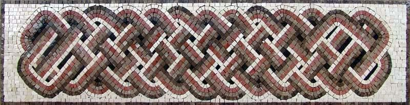 Celtic Border Mosaic Art