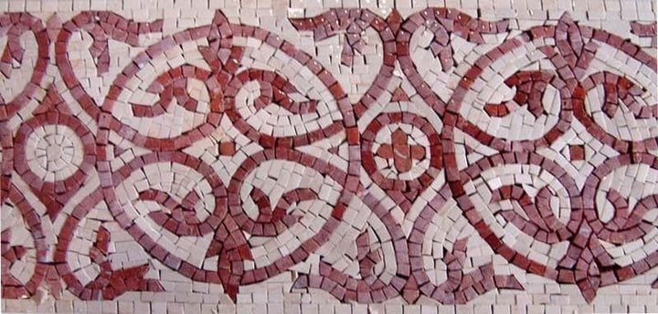 Light Red Border Mosaic