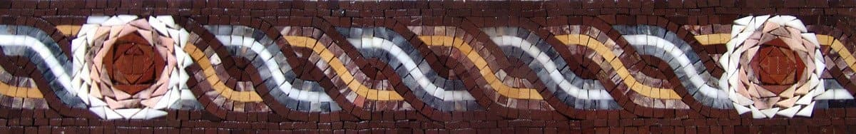 Border Decor Mosaic Design Pic